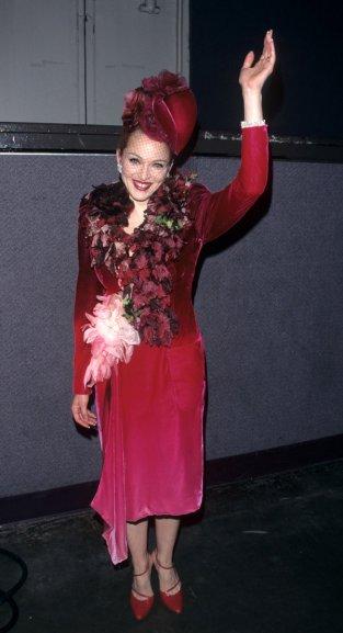 "1996 ""Evita"" Los Angeles Premiere (Photo by Ke.Mazur/WireImage)"