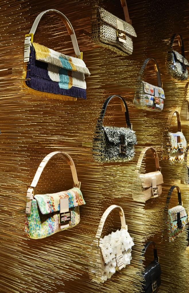 Fendi Boutique Avenue Montaigne 51 – Baguette wall
