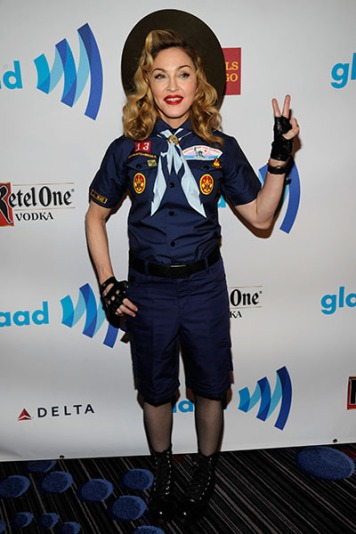 2013 24th Annual GLAAD Media Awards in New York City (Photo by Kevin Mazur/WireImage)