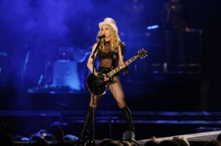 2008 Sticky and Sweet Tour in Los Angeles, California. (Photo by Kevin Winter/Getty Images)