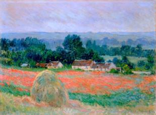Haystack at Giverny 1886