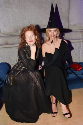 Jessica Chastain and Lauren Santo Domingo
