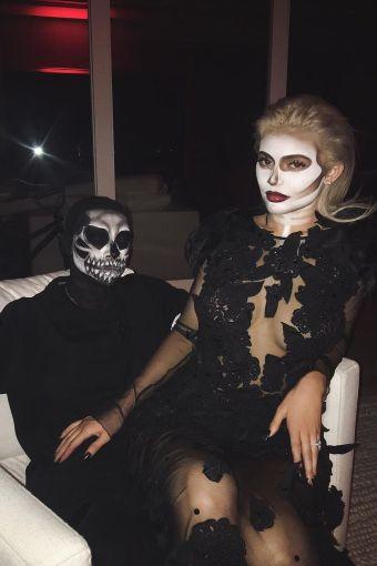 Kylie Jenner and boyfriend Tyga