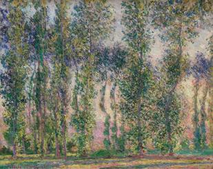 Poplars-at Giverny
