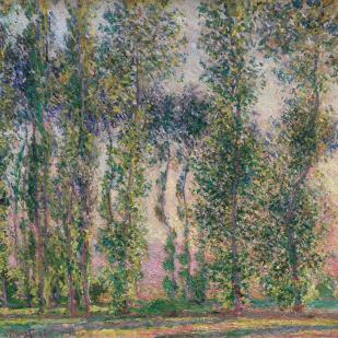 Poplars-at Giverny