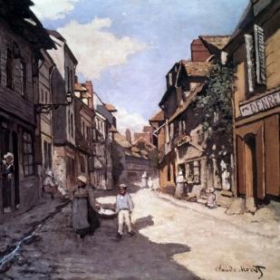 Street of the bavolle honfleur
