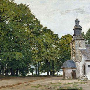 The chapel Notre Dame de Grace at honfleur