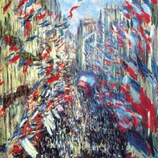 The rue montorgueil Paris