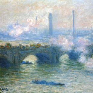 Waterloo bridge london