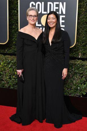 Meryl Streep with Ai-jen Poo