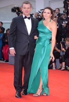 Matt e Luciana Damon
