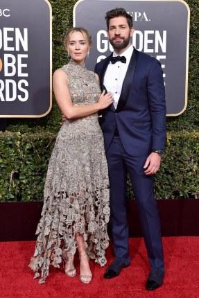 Emily Blunt and Alexander Mcqueen